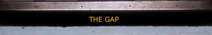 THE GAP strip logo