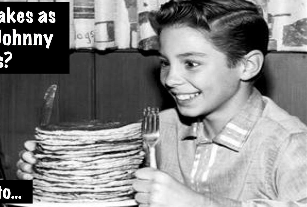 Pancake Party Banner