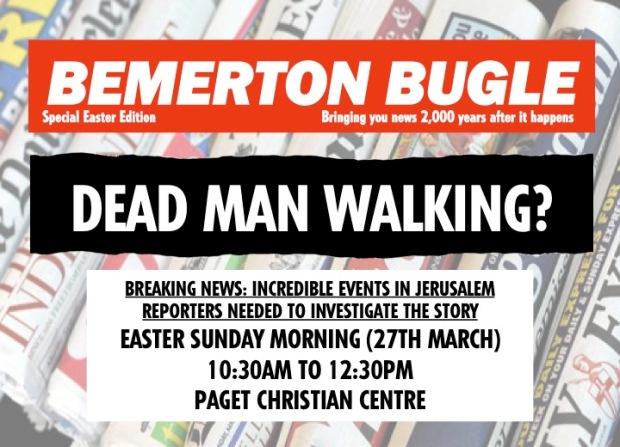 Easter Leaflets Front